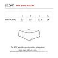 Women's 2-Piece White Beach Bikini True Timber Triangle Top & Basic Bottom Swimwear Swimsuit - Thumbnail 2