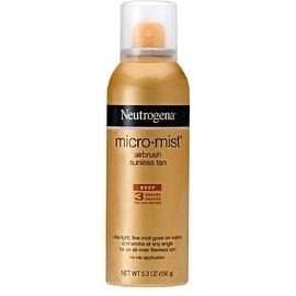 Neutrogena 5.3-ounce Micro-Mist Airbrush Sunless Tan Deep