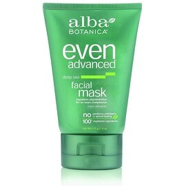 Alba Botanica Even Advanced Facial Mask, Deep Sea 4 oz