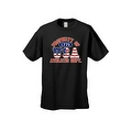 Men's T-Shirt USA Flag Pride Property of Athletic Dept. 1776 Old Glory Patriotic - Thumbnail 5