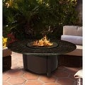 California Outdoor Concepts 5010-BR-PG3-BM-42 Carmel Chat Height Fire Pit-Bro... - Thumbnail 9