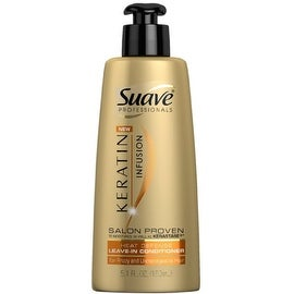 Suave Professionals Keratin Infusion Heat Defense Leave-In Conditioner 5.1 oz