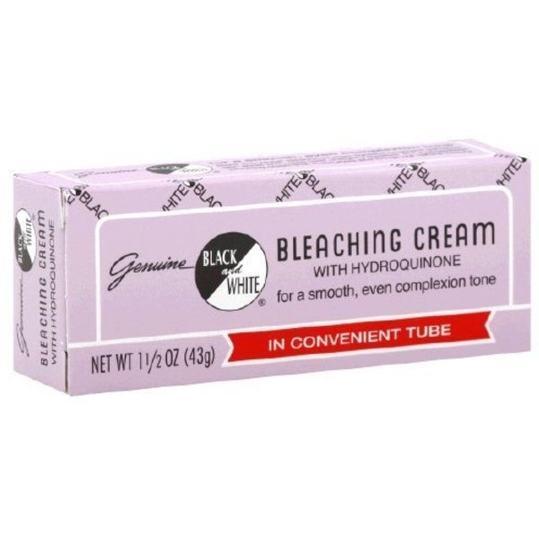 Black & White w/Hydroquinone Bleaching Cream 1.5 oz