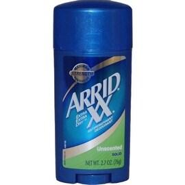 ARRID XX Anti-Perspirant Deodorant Solid Unscented 2.70 oz