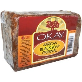 Okay 8-ounce African Black Soap Original