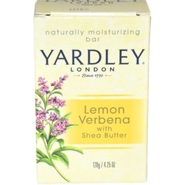 Yardley London 4.25-ounce Moisturizing Bar Lemon Verbena with Shea Butter