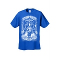 Men's T-Shirt White Shut Up & Ride Skeleton Biker Skull On A Hog Motorcycle Tee - Thumbnail 3