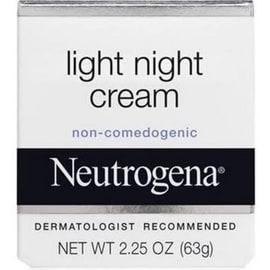 Neutrogena Light Night Cream 2.25 oz