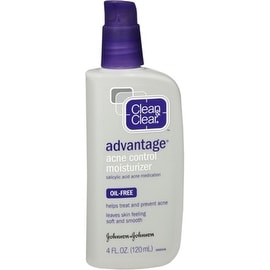 CLEAN & CLEAR ADVANTAGE Acne Control Moisturizer Oil-Free 4 oz