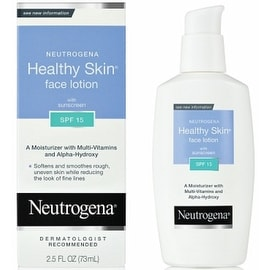 Neutrogena 2.5-ounce Healthy Skin Face Lotion SPF 15