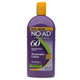 NO-AD 16-ounce Sunscreen Lotion SPF 60