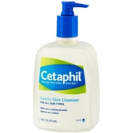 Cetaphil Gentle Skin Cleanser for All Skin Types 16 oz