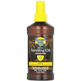 Banana Boat 8-ounce Deep Tanning Oil Spray SPF 4