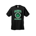 Men's T-Shirt Blunts Institution Of Higher Learning Uni. 420 Weed Pot Marijauna - Thumbnail 3