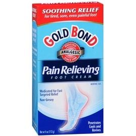 Gold Bond Pain Relieving Foot Cream 4 oz