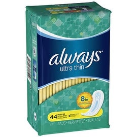 Always Ultra Thin Pads Regular 44 Each