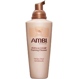 Ambi Skin Care Even & Clear Foaming Cleanser 6 oz
