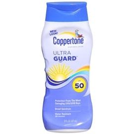 Coppertone 8-ounce UltraGuard Sunscreen Lotion SPF 50