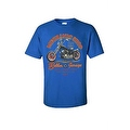 MEN'S BIKER T-SHIRT MOTORCYCLE MECHANIC SHOP BOBBER GARAGE L.A. S-XL 2X 3X 4X 5X - Thumbnail 7