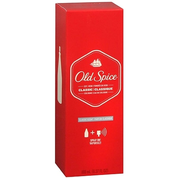 Old Spice Cologne Classic Spray 6.37 oz