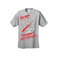 Men's T-Shirt Keep Calm and Run! Zombies are Coming!!! Undead Death Kill Tee - Thumbnail 4