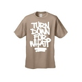 MEN'S HILARIOUS T-SHIRT Turn Down For What? TEE FUNNY ADULT HUMOR COOL TOP S-5XL - Thumbnail 2