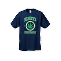 Men's T-Shirt Blunts Institution Of Higher Learning Uni. 420 Weed Pot Marijauna - Thumbnail 5