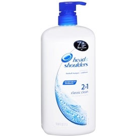 Head & Shoulders 2 In 1 Classic Clean Dandruff Shampoo + Conditioner 33.80 oz