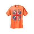 MEN'S T-SHIRT Distressed British Flag GREAT BRITAIN PATRIOTIC UNITED KINGDOM TEE - Thumbnail 3