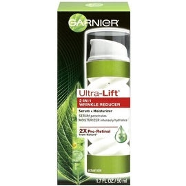 Garnier Ultra-Lift 2-in-1 Wrinkle Reducer Serum+Moisturizer 1.70 oz