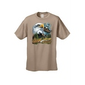 Men's T-Shirt Bald Eagle in Nature USA Forever Freedom American Heritage Tee - Thumbnail 6