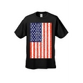 Men's T-Shirt USA Flag American Pride Stars & Stripes Old Glory Tee Distressed - Thumbnail 7