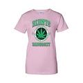 Women's Juniors T-Shirt Blunts Inst. Of Higher Learning Uni. Weed Pot Marijauna - Thumbnail 2