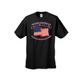 Men's USA Flag T Shirt Patriotic Home of the Free United States of America Tee - Thumbnail 8