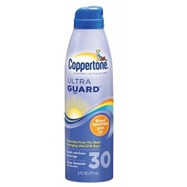 Coppertone UltraGuard Continuous Spray Sunscreen SPF 30 6 oz