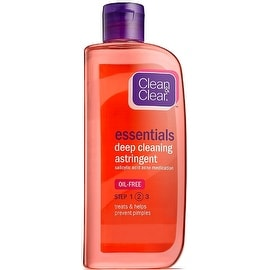 CLEAN & CLEAR Essentials Deep Cleaning Oil-Free Astringent 8 oz