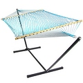 Sunnydaze Caribbean XL Rope Hammock with Spreader Bars - Multiple Colors Availab - Thumbnail 31