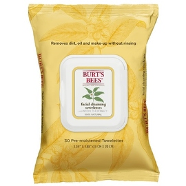 Burt's Bees Facial Cleansing Towelettes with White Tea Extract 30 ea