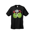 MEN'S / UNISEX T-SHIRT Olive You! FUNNY HEARTS VALENTINE'S DAY TOP S-2X 3X 4X 5X - Thumbnail 2