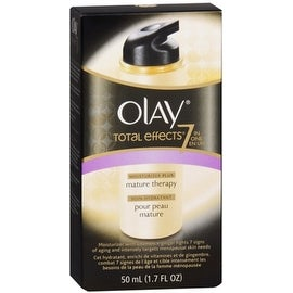 OLAY Total Effects 7-In-1 Anti-Aging Moisturizer plus Mature Skin Therapy 1.70 oz
