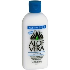 Fruit of the Earth 4-ounce Aloe Lotion Skin Cooling