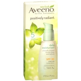 Aveeno 2.5-ounce Active Naturals Positively Radiant Daily Moisturizer SPF 30