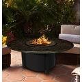 California Outdoor Concepts 5010-BK-PG2-BM-42 Carmel Chat Height Fire Pit-Bla... - Thumbnail 9