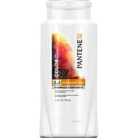 Pantene Color Hair Solutions 2 in 1 Color Preserve Shine Shampoo & Conditioner 25.40 oz