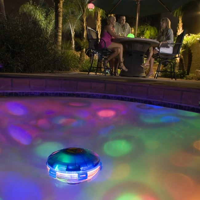 Pool party underwater light show large free shipping for Pool light show walmart