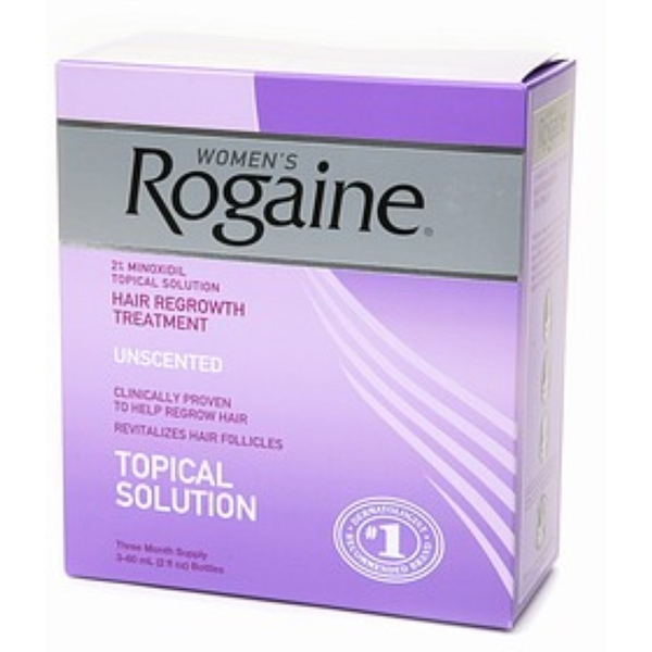 Rogaine 6-ounce Women's Unscented (3-Pack)