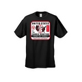 Men's T-Shirt United States No Limit Zombie Hunting Permit Walkers Graphic Tee - Thumbnail 5