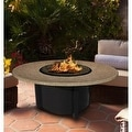 California Outdoor Concepts 5010-BK-PG3-SUN-48 Carmel Chat Height Fire Pit-Bl... - Thumbnail 9