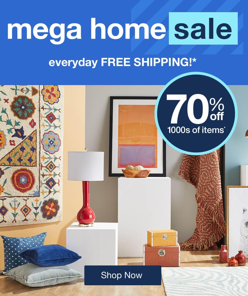 Mega Home Sale mobile