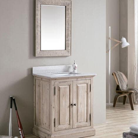 Futuristic Bathroom Vanity Cabinet Exterior